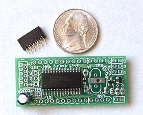 msp430 flash microcontroller module